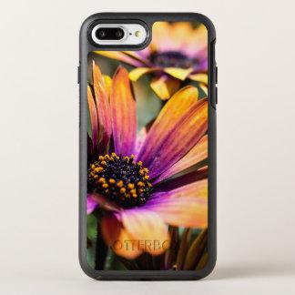 Capa Para iPhone 8 Plus/7 Plus OtterBox Symmetry iPhone floral da margarida brilhante/exemplo de