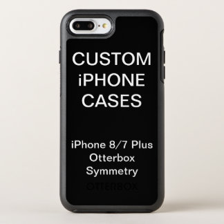 Capa Para iPhone 8 Plus/7 Plus OtterBox Symmetry iPhone personalizado costume de Otterbox 8/7 de
