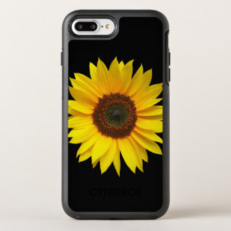 Capa Para iPhone 8 Plus/7 Plus OtterBox Symmetry iPhone X/8/7 de Apple do girassol mais o caso de