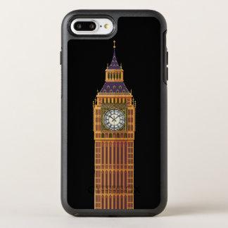 Capa Para iPhone 8 Plus/7 Plus OtterBox Symmetry iPhone X/8/7 de Big Ben Apple mais o caso de