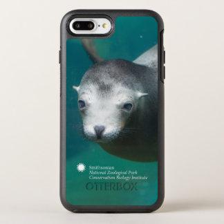 Capa Para iPhone 8 Plus/7 Plus OtterBox Symmetry Leão de mar de Smithsonian |