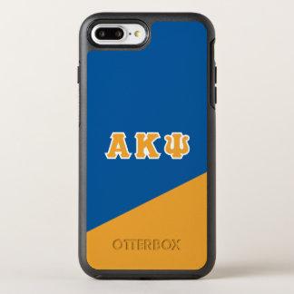 Capa Para iPhone 8 Plus/7 Plus OtterBox Symmetry Letras alfa do grego da libra por polegada