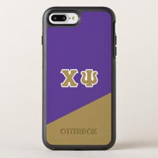 Capa Para iPhone 8 Plus/7 Plus OtterBox Symmetry Letras do grego da libra por polegada quadrada |