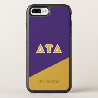 Capa Para iPhone 8 Plus/7 Plus OtterBox Symmetry Letras do grego do delta | da tau do delta