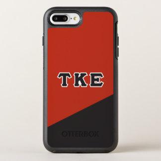 Capa Para iPhone 8 Plus/7 Plus OtterBox Symmetry Letras do grego do épsilon   do Kappa da tau