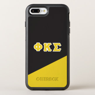 Capa Para iPhone 8 Plus/7 Plus OtterBox Symmetry Letras do grego do Sigma | do Kappa da phi