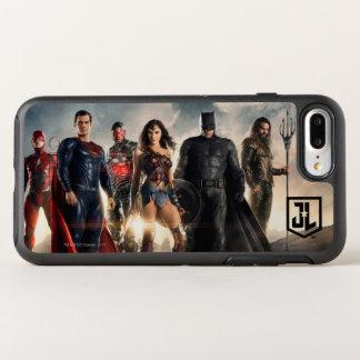 Capa Para iPhone 8 Plus/7 Plus OtterBox Symmetry Liga de justiça da liga de justiça | no campo de