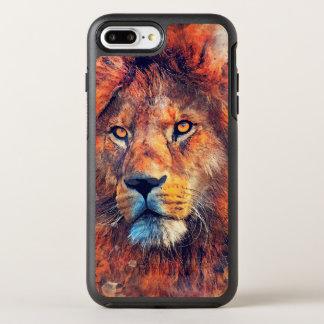Capa Para iPhone 8 Plus/7 Plus OtterBox Symmetry #lion da arte do leão