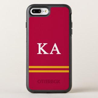 Capa Para iPhone 8 Plus/7 Plus OtterBox Symmetry Listra alfa do esporte da ordem   do Kappa