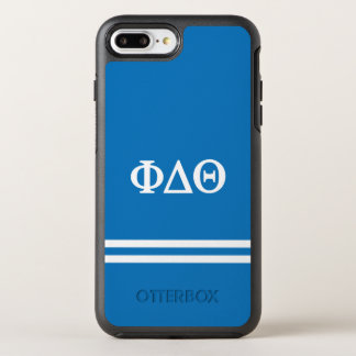 Capa Para iPhone 8 Plus/7 Plus OtterBox Symmetry Listra do esporte da teta | do delta da phi