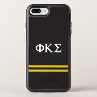 Capa Para iPhone 8 Plus/7 Plus OtterBox Symmetry Listra do esporte do Sigma | do Kappa da phi