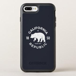 Capa Para iPhone 8 Plus/7 Plus OtterBox Symmetry Logotipo | de Califórnia o Golden State