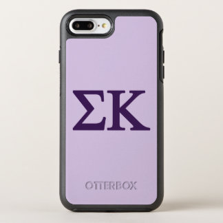 Capa Para iPhone 8 Plus/7 Plus OtterBox Symmetry Logotipo grande de Lil do Kappa do Sigma