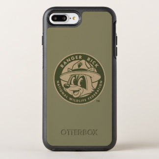 Capa Para iPhone 8 Plus/7 Plus OtterBox Symmetry Logotipo Khaki do rick da guarda florestal do rick