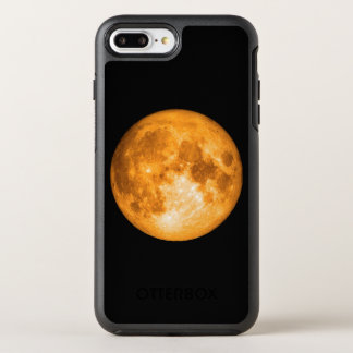 Capa Para iPhone 8 Plus/7 Plus OtterBox Symmetry Lua cheia alaranjada