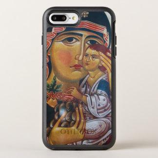 Capa Para iPhone 8 Plus/7 Plus OtterBox Symmetry Mãe Mary e arte de Jesus