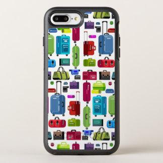 Capa Para iPhone 8 Plus/7 Plus OtterBox Symmetry Malas de viagem de néon