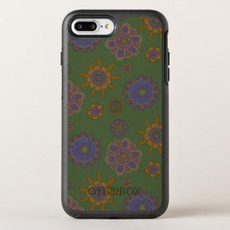 Capa Para iPhone 8 Plus/7 Plus OtterBox Symmetry Malva & flores do ouro