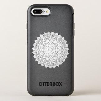 Capa Para iPhone 8 Plus/7 Plus OtterBox Symmetry Mandala bonita do vetor, elemento modelado do