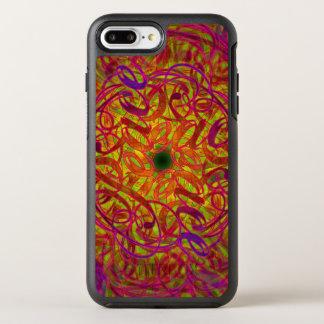 """Capa Para iPhone 8 Plus/7 Plus OtterBox Symmetry Mandala da inspiração - """"paz """""""