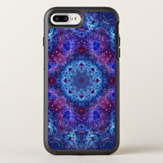 Capa Para iPhone 8 Plus/7 Plus OtterBox Symmetry Mandala do azul de Shiva