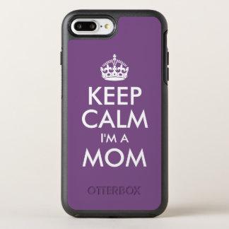 Capa Para iPhone 8 Plus/7 Plus OtterBox Symmetry Mantenha a calma que eu sou uma mamã