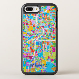 Capa Para iPhone 8 Plus/7 Plus OtterBox Symmetry Mapa colorido de Atlanta