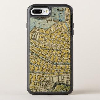 Capa Para iPhone 8 Plus/7 Plus OtterBox Symmetry Mapa de Nagasaki