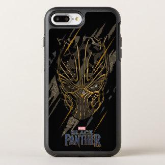 Capa Para iPhone 8 Plus/7 Plus OtterBox Symmetry Marcas da garra da pantera preta | Erik Killmonger