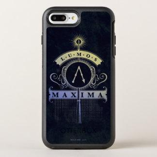 Capa Para iPhone 8 Plus/7 Plus OtterBox Symmetry Máximos do período | Lumos de Harry Potter