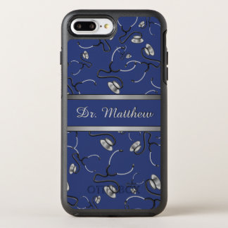 Capa Para iPhone 8 Plus/7 Plus OtterBox Symmetry Médico, enfermeira, medique estetoscópios