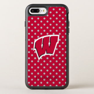 Capa Para iPhone 8 Plus/7 Plus OtterBox Symmetry Mini bolinhas de Wisconsin |