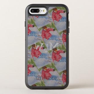 CAPA PARA iPhone 8 PLUS/7 PLUS OtterBox SYMMETRY MONOGRAMA DO ESQUI EM DECLIVE