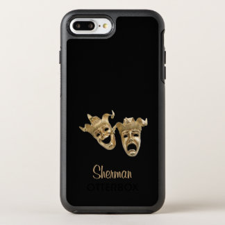 Capa Para iPhone 8 Plus/7 Plus OtterBox Symmetry Monograma original do teatro da comédia e da