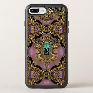 Capa Para iPhone 8 Plus/7 Plus OtterBox Symmetry Monograma protetor do gótico elegante de