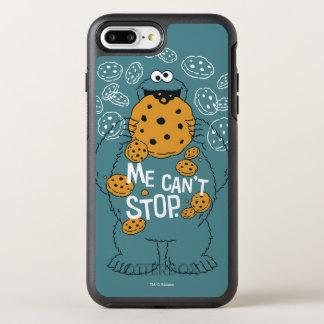 Capa Para iPhone 8 Plus/7 Plus OtterBox Symmetry Monstro do biscoito do Sesame Street | - eu não