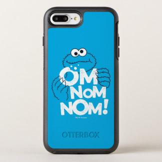 Capa Para iPhone 8 Plus/7 Plus OtterBox Symmetry Monstro do biscoito | OM Nom Nom!