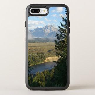 Capa Para iPhone 8 Plus/7 Plus OtterBox Symmetry Montanhas e rio de Jackson Hole