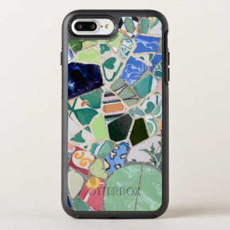 Capa Para iPhone 8 Plus/7 Plus OtterBox Symmetry Mosaicos de Guell do parque