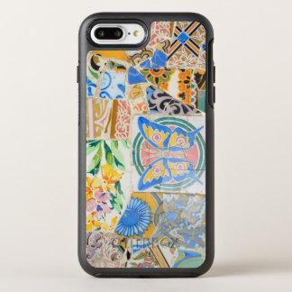 Capa Para iPhone 8 Plus/7 Plus OtterBox Symmetry Mosaicos de Guell do parque