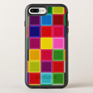 Capa Para iPhone 8 Plus/7 Plus OtterBox Symmetry Multi caixa positiva colorida do iPhone 7 do