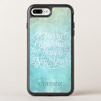 Capa Para iPhone 8 Plus/7 Plus OtterBox Symmetry Natal elegante e capa de telefone do ano novo |