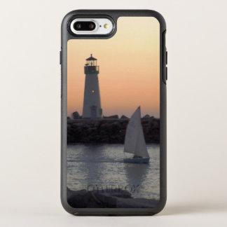 Capa Para iPhone 8 Plus/7 Plus OtterBox Symmetry Navigação no crepúsculo no porto de Santa Cruz