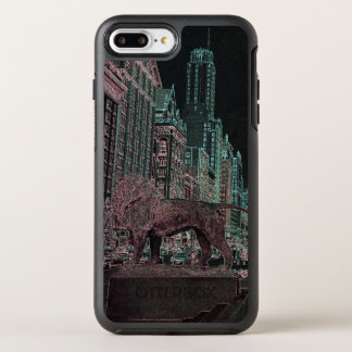 CAPA PARA iPhone 8 PLUS/7 PLUS OtterBox SYMMETRY NÉON DO MUSEU DE ARTE 1967 DA AVENIDA DE CHICAGO