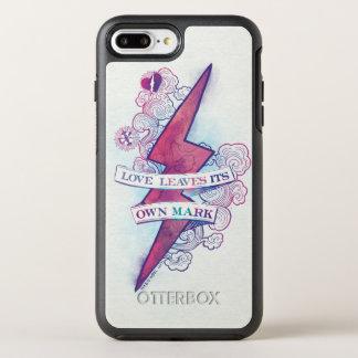 Capa Para iPhone 8 Plus/7 Plus OtterBox Symmetry O amor do período   de Harry Potter deixa sua