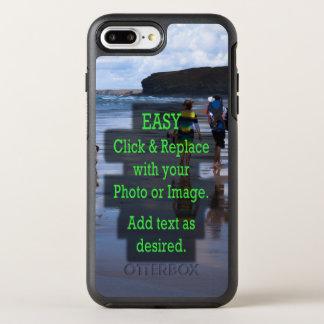 Capa Para iPhone 8 Plus/7 Plus OtterBox Symmetry O clique simples e substitui a foto para criar
