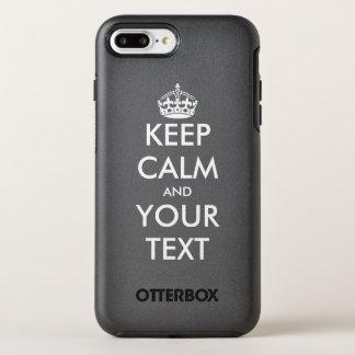 Capa Para iPhone 8 Plus/7 Plus OtterBox Symmetry O costume mantem a calma e faz suas próprias