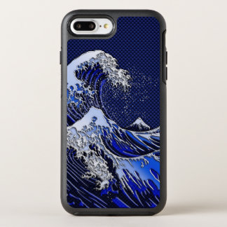 Capa Para iPhone 8 Plus/7 Plus OtterBox Symmetry O grande estilo do carbono do cromo da onda de