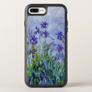 Capa Para iPhone 8 Plus/7 Plus OtterBox Symmetry O Lilac de Claude Monet torna iridescente o azul