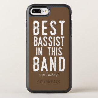 Capa Para iPhone 8 Plus/7 Plus OtterBox Symmetry O melhor baixista (provavelmente) (branco)